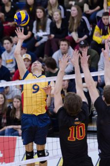 Men's volleyball will begin their OUA title defence at home against York on Saturday night.