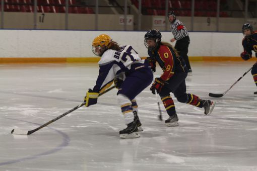 Smith (above, right) scored seven goals and 20 points this season, while Duncan (below, left) was second among OUA defenders with 22 points.