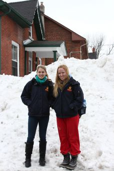 Captain Kristin Smith (left) and assistant captain Katie Duncan both won the OUA championship with Queen's in 2010-11.