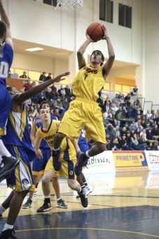 Guard Sukhpreet Singh was named to the OUA East All-Rookie Team after averaging 12.2 points and 3.8 assists per game.