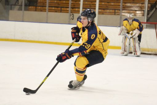 Gaels' third-year defenceman Patrick McEachen scored 13 points, nearly doubling his total from last year.