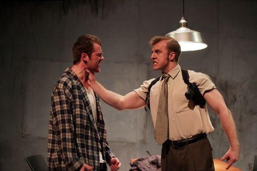 Reece Presley and Adrian Young play the roles of the policeman and detective, respectively, investigating Katurian's case with the perfect dose of inquisitiveness in their performances.