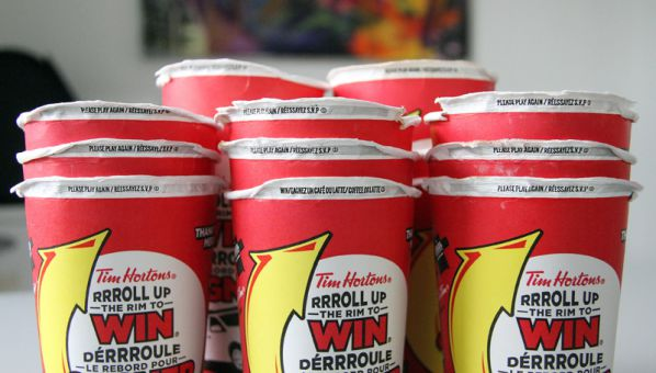 Roll up the rim to win prizes 2018