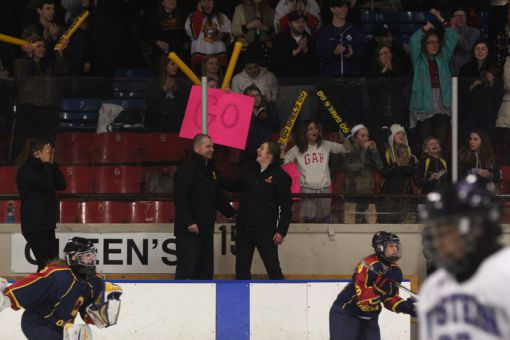 Holmberg and the Gaels swept the Western Mustangs to clinch this season's OUA championship.