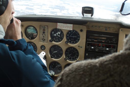 Started in 1929, the Kingston Flying Club currently has roughly 125 members that regularly take flight.
