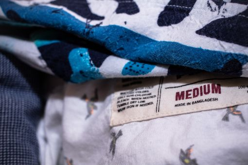 Clothes made in Bangladesh are cheap, but their production may compromise the health and safety of workers.