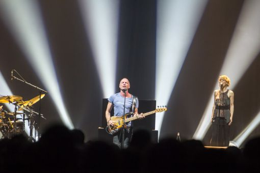 Sting played to an older crowd at the K-Rock Centre on June 18, a stop part of his Back to Bass tour.