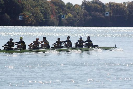 Head rowing coach John Armitage has captured 20 OUA banners during his 37 seasons at Queen's.
