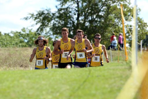 Queen's won the men's overall title at the Queen's Invitational, snagging all three podium spots.