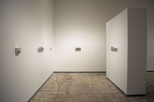 """Déjà déjà visité, meaning """"already been visited,"""" combines the works of artists Mike Bayne, Jocelyn Purdie and Maayke Schurer at the Agnes Etherington Art Centre (AEAC) to present a collective view of urbanized settings that depict a certain vacant quality."""