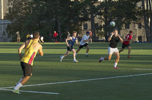 Playing against teams throughout Ontario, the men's rugby reserve squads give all players a chance to improve their skills and work their way to the club's upper teams.