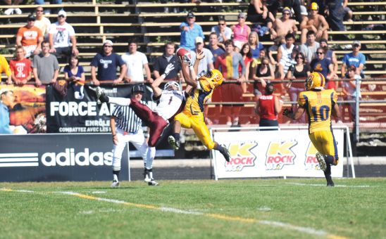 Queen's leads the OUA with 24 takeaways, and sits tied for first with 10 interceptions.