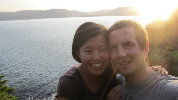 Joanna Lam, 24, and Connor Hayes, 25. Lam's body was discovered on Sept. 19.