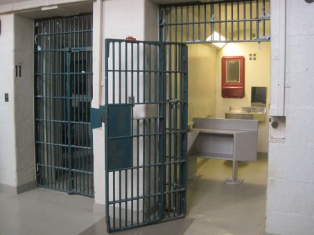 A cell in the Penitentiary's main cell block, the oldest building in the facility.