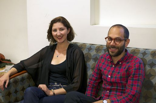 The series' founders, Laura Kelly and Vincent Perez, kicked off Mouthy in 2009.