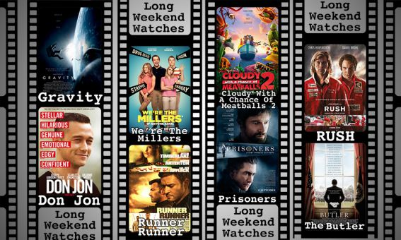Eight films currently in theatres to see over the long Thanksgiving weekend.