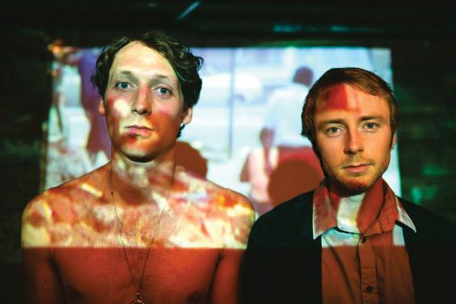 The Zolas— Zachary Gray (pictured left) and Tom Dobrzanski— named themselves after the naturalist French writer, Émile Zola.