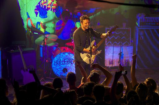 Hollerado, Born Ruffians and The Zolas shared the stage Wednesday evening at Ale House.