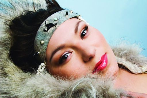 Tanya Tagaq was enamoured with throat singing at a young age.
