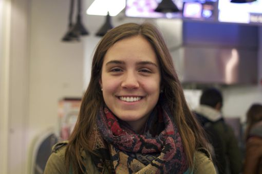 """""""I haven't voted yet — I've been busy with midterms."""" -Marija Janjos, ArtSci '16"""