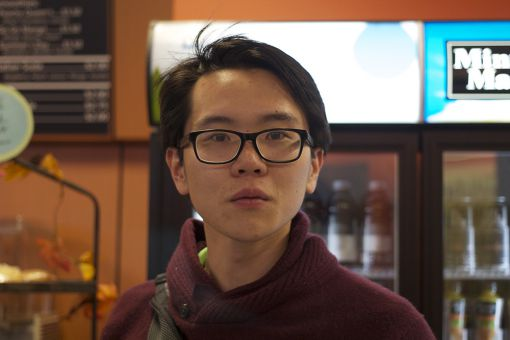 """""""I got my ballot on time and I voted yesterday."""" -Vincent Jiang, Comm '14"""