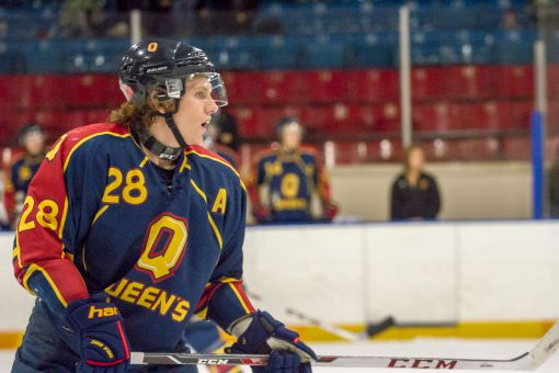 The Gaels potted three power play goals against Brock, including one from Patrick McEachen (above).