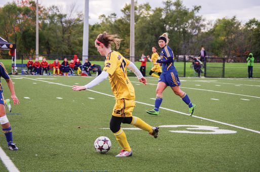 Riley Filion netted twice on Wednesday, scoring in the 14th and 62nd minutes.