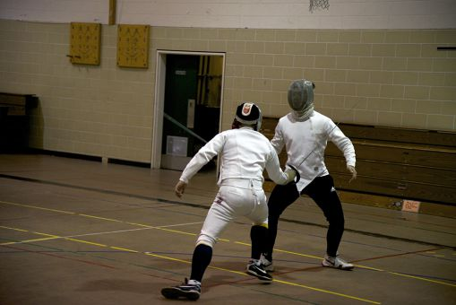 When engaging in a match, fencing opponents must abide by the code of conduct.