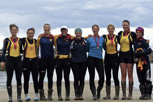 The Gaels' women's heavyweight eight captured the gold medal at the OUA championships on Sunday.