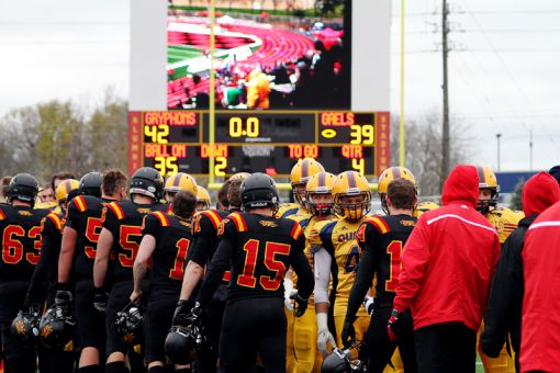 Guelph erased a 22-point deficit in last year's playoff game, then won in overtime.