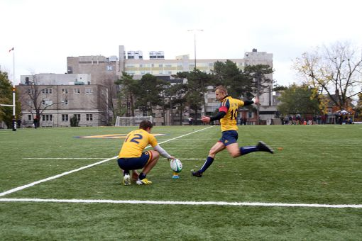 Men's rugby cruised past Western on Sept. 28 by a score of 36-18 en route to a perfect regular season.