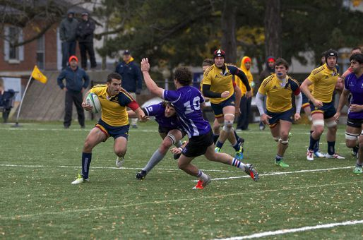 Queen's scored 33 straight points en route to their second consecutive OUA title.