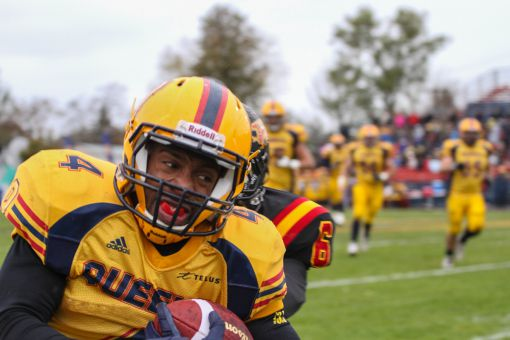 Running back Daniel Heslop ran for just four yards last week against Guelph, but had an 87-yard catch against Western on Sept. 28.
