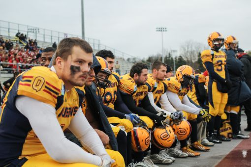 Sam Sabourin (left) was one of seven Gaels named first-team OUA All-Stars.