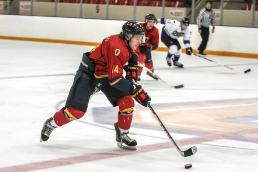 Captain Corey Bureau netted in Queen's 3-1 win over Laurier last Saturday.