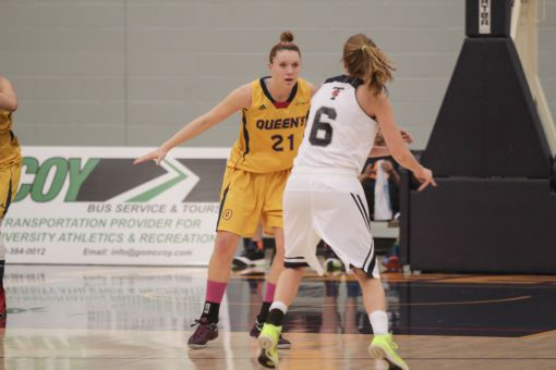 Jenny Wright's 14 points was the highest among all Gaels in their loss to Toronto.