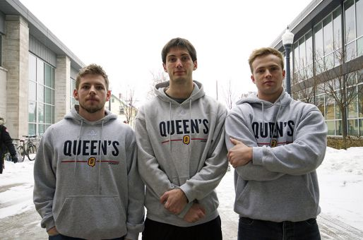 CrossFit Tricolour organizers Alex Wilson, Callum Owen and Storm Patterson (pictured left to right) were forced to suspend operations on Dec. 4, after running official group workouts since the summer.