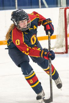 Assistant captain Mary Coughlin and the women's hockey team are seeking a repeat OUA championship.
