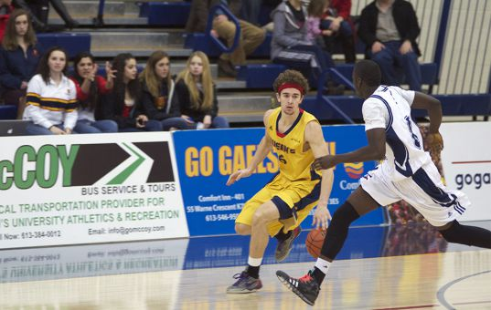 Despite two losses over the weekend, the Gaels hold a three-game lead over the Toronto Varsity Blues for the final playoff spot in the OUA East.