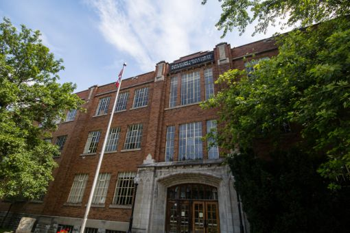 Kingston Collegiate and Vocation Institution, located near Queen's main campus.