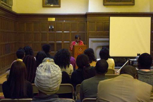 Black History Month kicked off at the beginning of February with speeches in Wallace Hall.