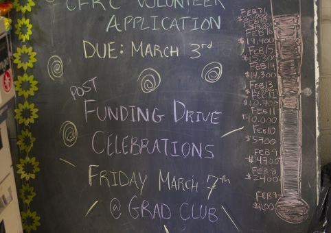 CFRC hoped to raise $25,000 to help cover the cost of new radio equipment.