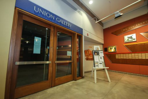 Union Gallery, which is located in Stauffer Library, is facing having to reduce it's hours to 1.5 a week.