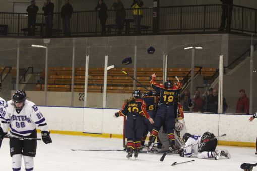 Last year, women's hockey swept the Western Mustangs to capture the OUA championship on home ice.