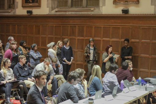Assembly voted against de-ratifying the Men's Issues Awareness Society on Thursday.