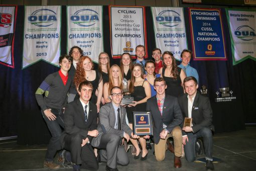 It took four consecutive Ontario championship for cycling to finally claim Queen's varsity club of the year award.