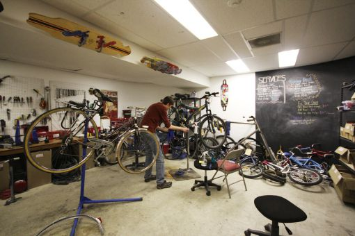 Bikes & Boards has been more successful since moving to the JDUC.