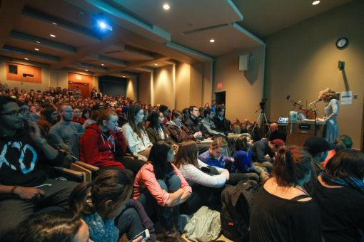 The Men's Issues Awareness Society hosted a talk by professor Janice Fiamengo in March.