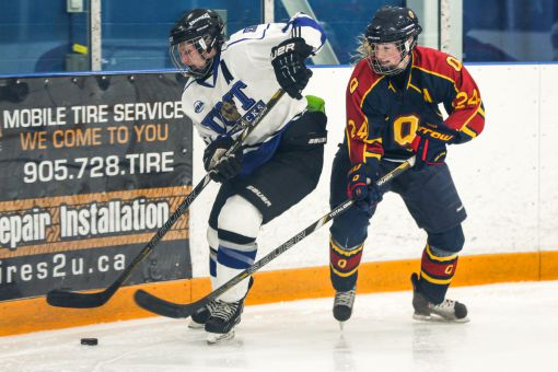 Queen's women's hockey team's closest opponent, UOIT, is located over 200 kilometres away from Kingston.