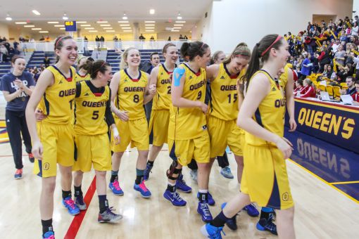 When women's basketball didn't play against schools from western Ontario, their recruiting in the region was hindered, according to head coach Dave Wilson. The OUA schedule since 2001 has changed that.
